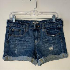 EUC Mossimo Distressed Denim Shorts